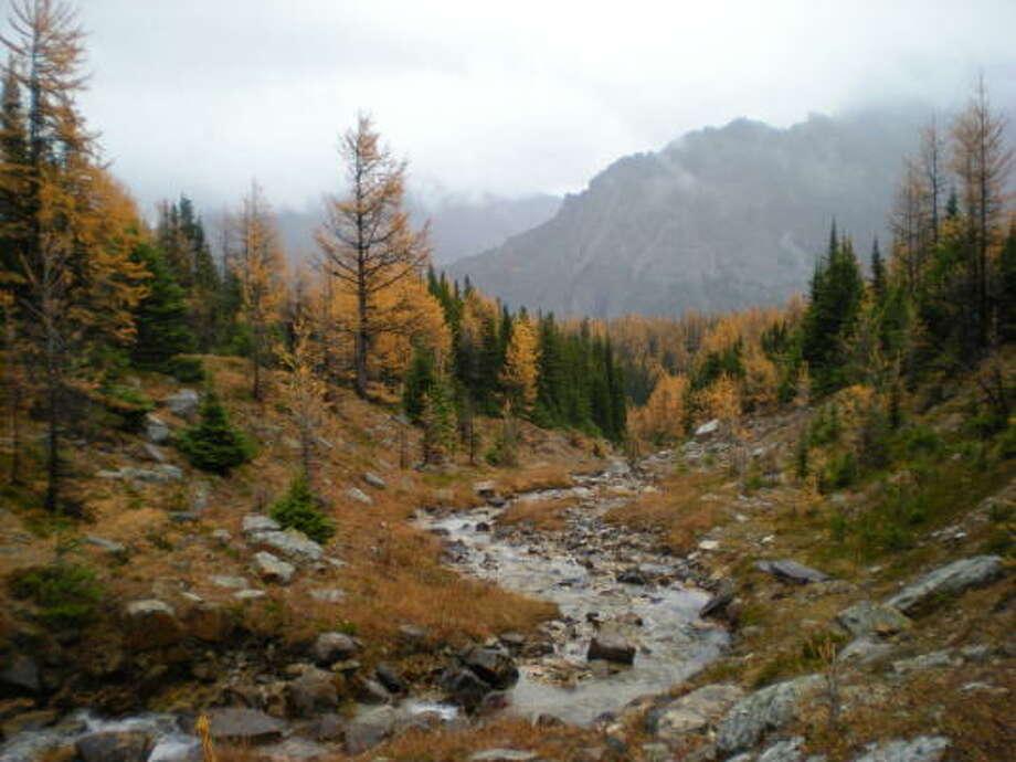 Banff National Park in Alberta, Canada Photo: T.G. DeHekker