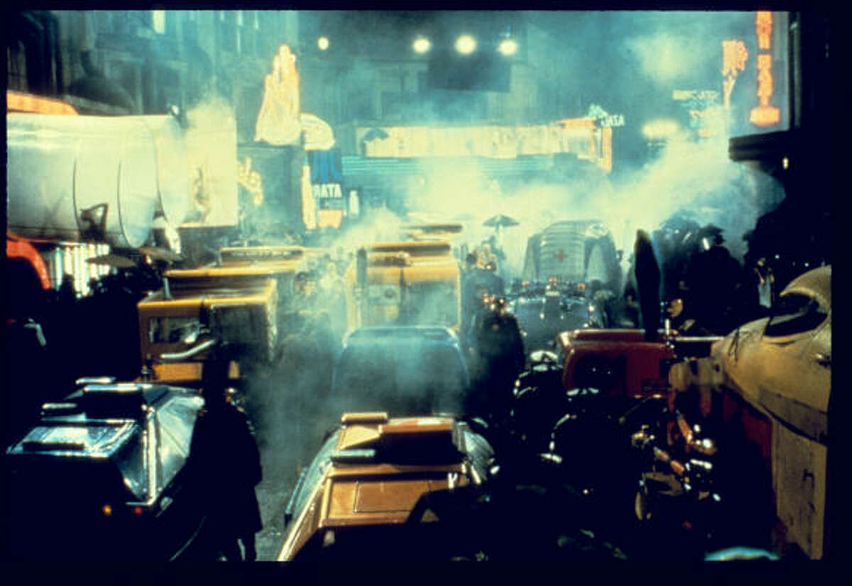Ridley Scott's 1982 film Blade Runner was inspired by the Philip K. Dick book Do Androids Dream of Electric Sheep. Dick's work also inspired the films Minority Report and A Scanner Darkly.