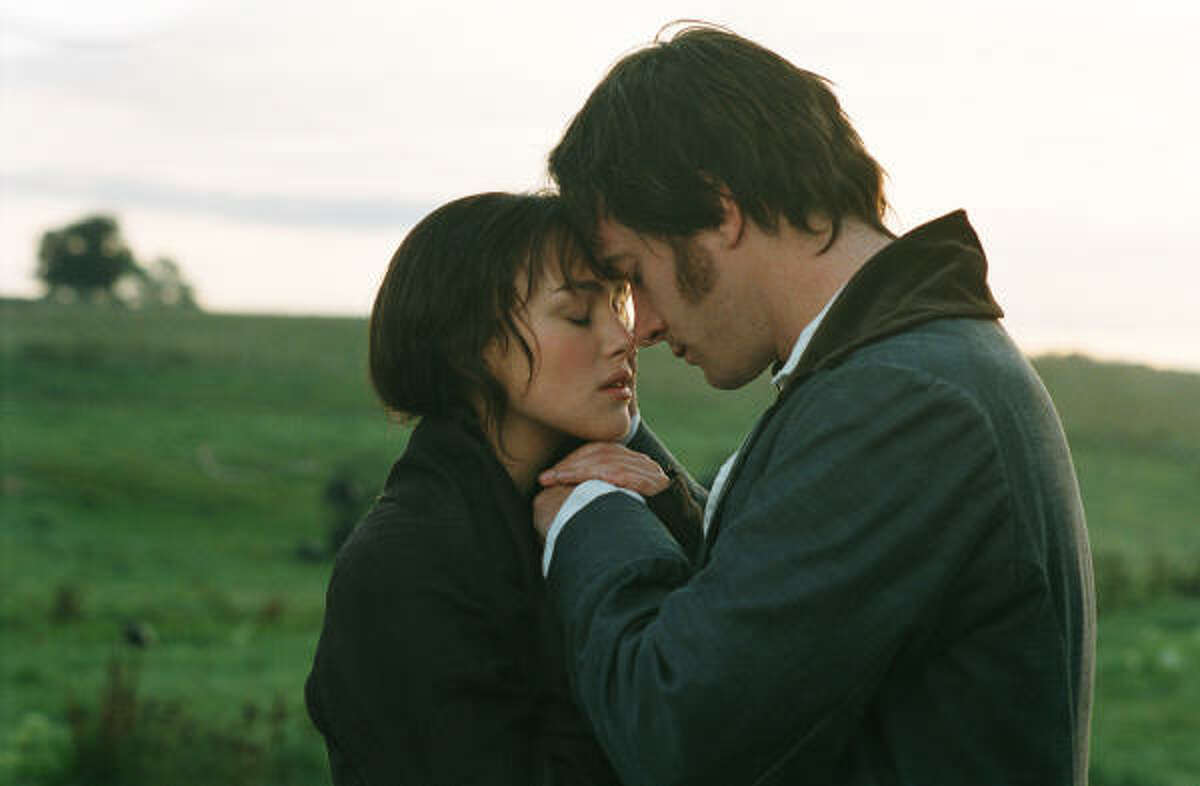 On screen Her popular novels have been adapted time and time again for the screen, including this rendition starring Keira Knightley as Elizabeth Bennet and Matthew Macfadyen as Mr. Darcy. Nobody likes this one much.