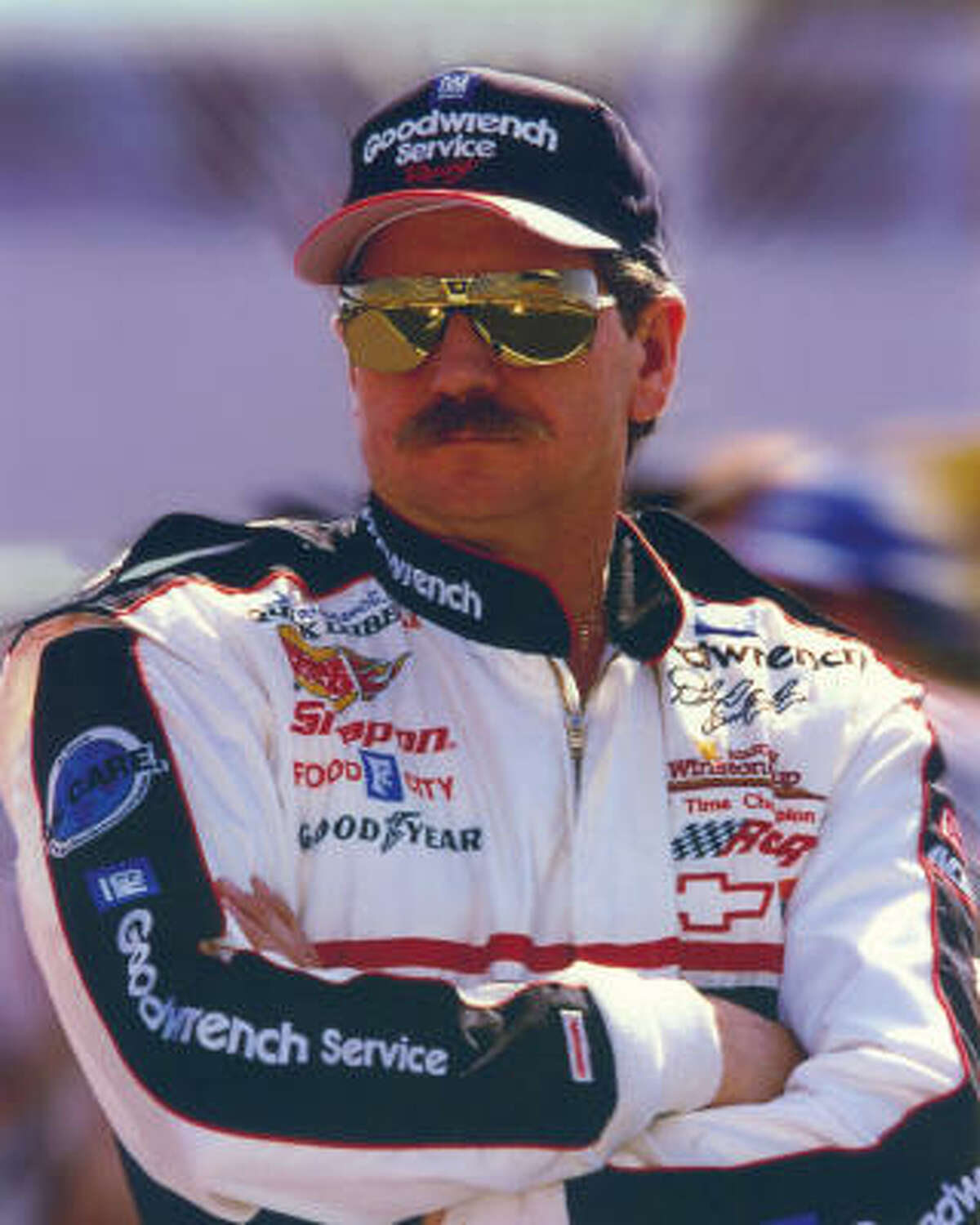 Dale Earnhardt: Seven-time NASCAR series champion.