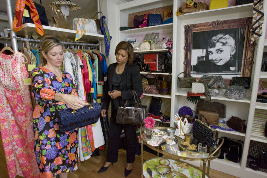 Be recycled chic this year. Old is the new New at Cheeky Vintage, 2134 Richmond. The store carries all vintage apparel and accessories Photo: Johnny Hanson, Chronicle