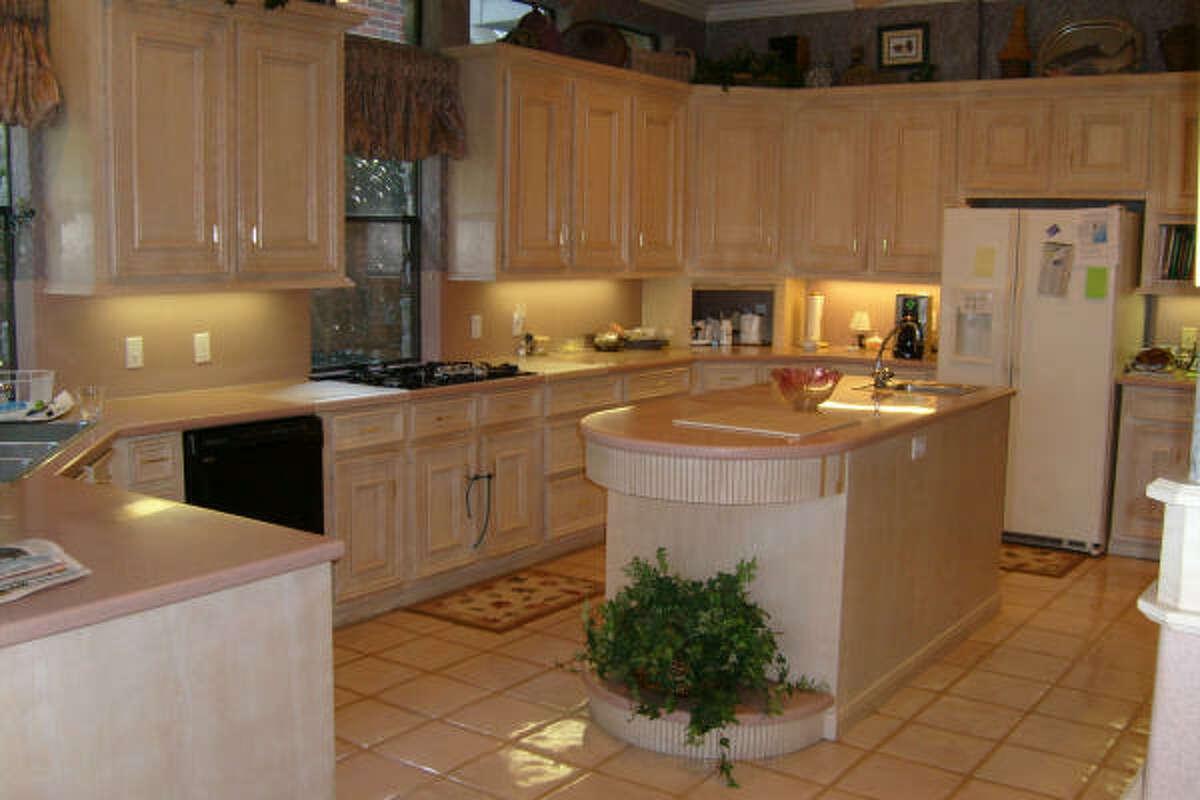 Before kitchen by designer Carla Aston