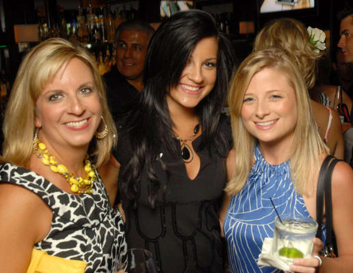 Kathy Crosby, Haley Crosby and Kristi Eaton