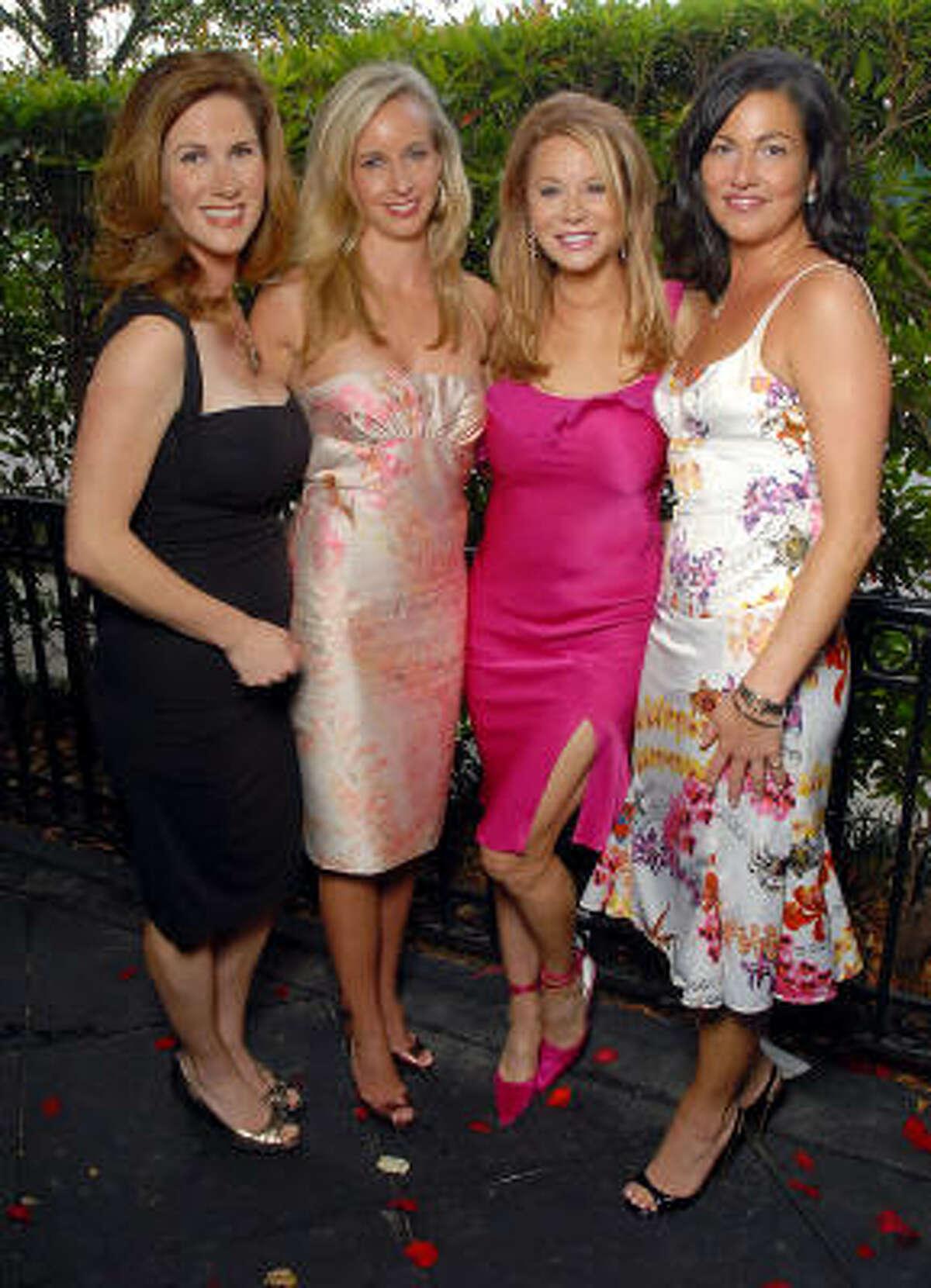 From left: Maeve Pesquera, Robin Reimer, Cindi Rose and Jessica Rossman