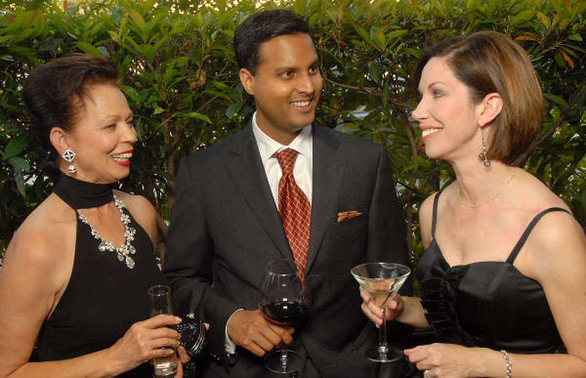 From left: Danielle Ellis, Aashish Shah and Roseanne Rogers