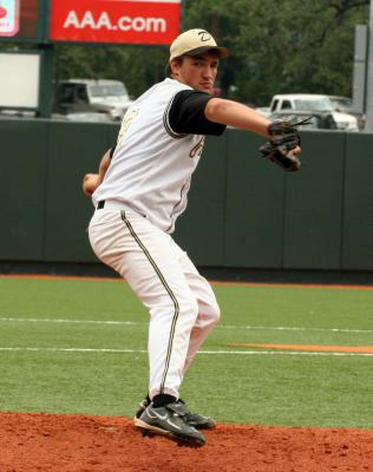 Danbury pitcher Scott Zimmerle threw a complete game and only gave up two hits.