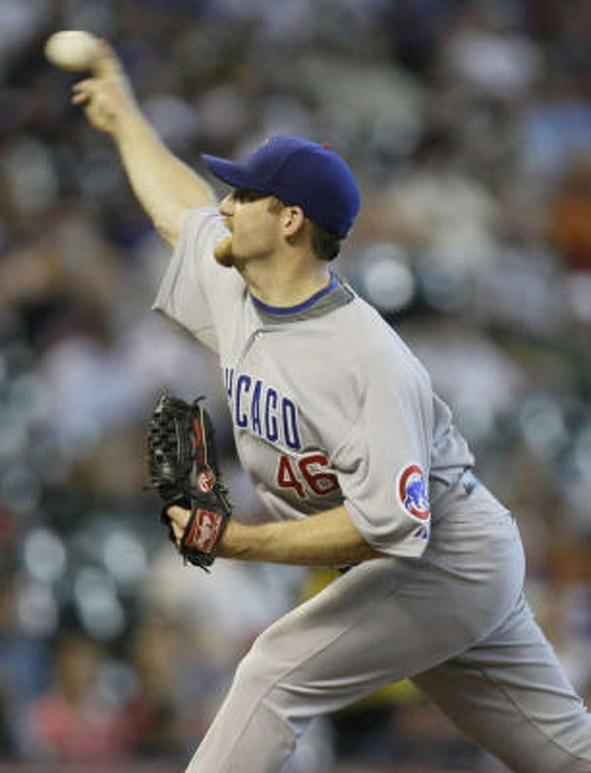 Chicago Cubs righthander Ryan Dempster allowed a run in the first inning. Dempster, who allowed one run over seven innings, received a no-decision after the Cubs rallied to tie the game at 1 in the ninth.