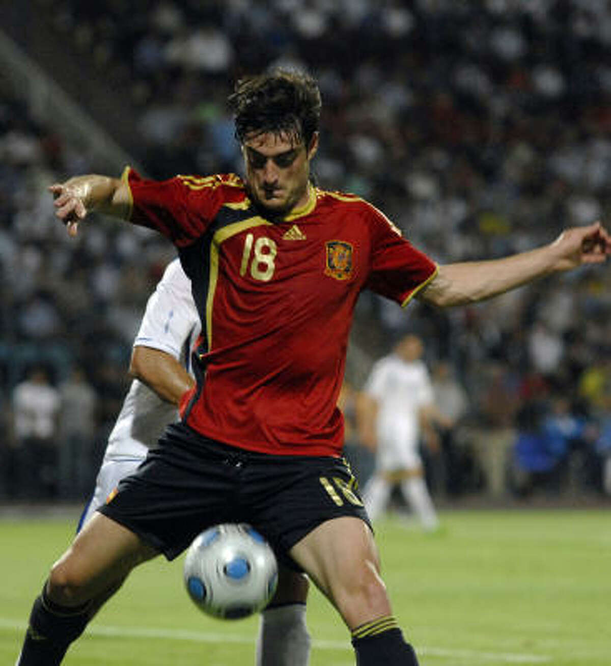 1. SPAIN Albert Riera and Spain beat Azerbaijan 6-0 in a friendly on Tuesday, June 9, and maintain a stranglehold on the top spot.