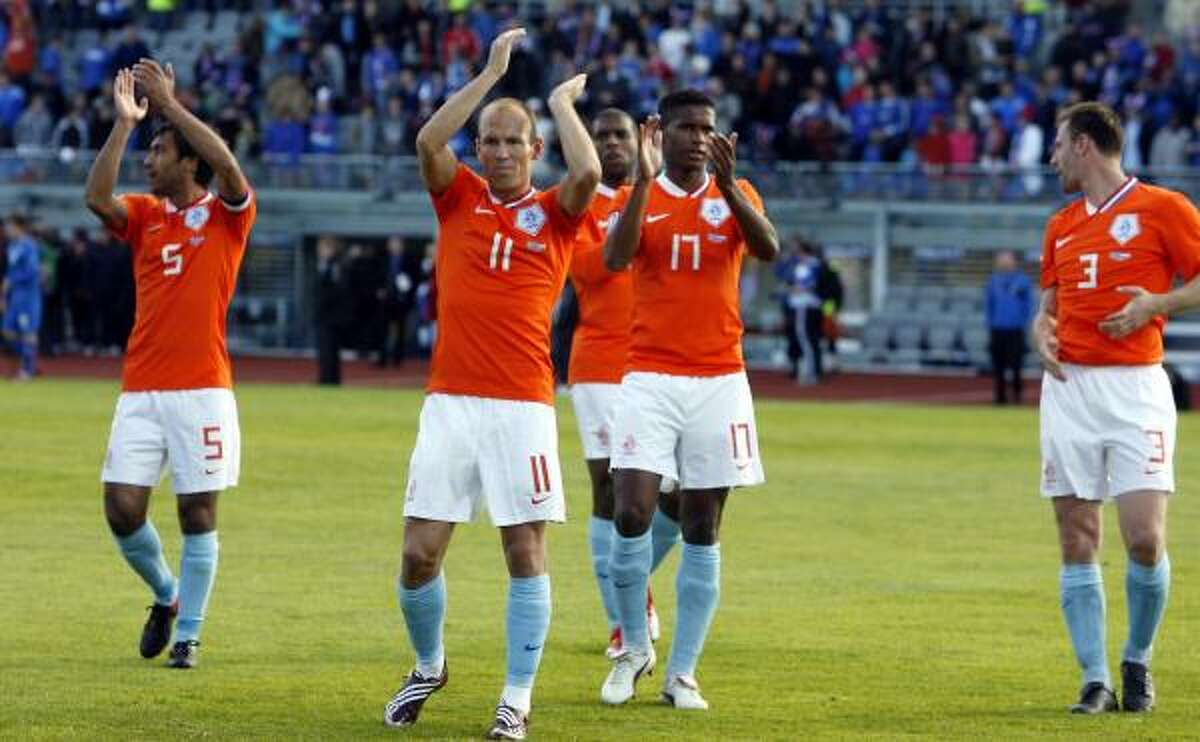 2. NETHERLANDS The Orange moved up a spot in the standings. They took a 2-1 victory on Saturday, June 6 over Iceland in World Cup qualifying.