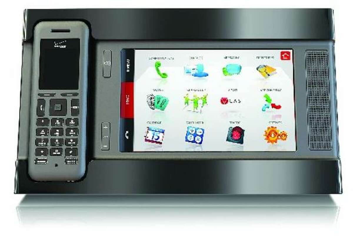 Verizon Hub: The first VoIP (Voice over Internet Protocol) home telecommunications system on the market with a home base, or