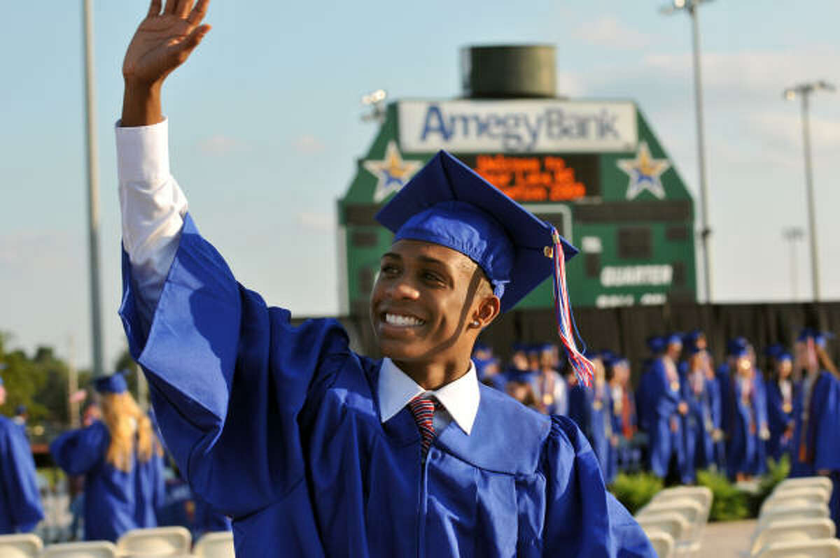 This year 839 students graduated from Clear Lake High School.