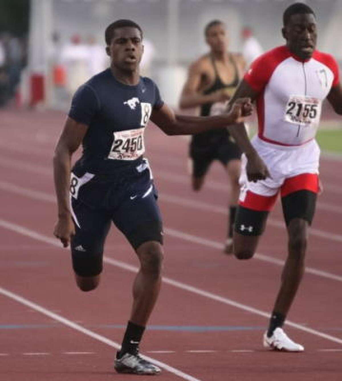 Lamar's Errol Nolan took the gold in the 400 meters in 46.97