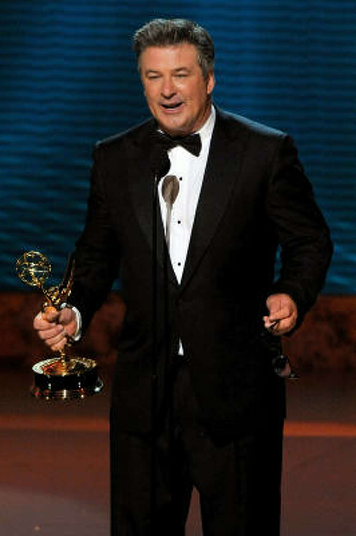 61st Primetime Emmy Awards: Sept. 13. Size: 4.75 pounds and 16 inches. Resembles: Hood ornament. Weapon potential: Medium. The pointy wings could poke out an eye.