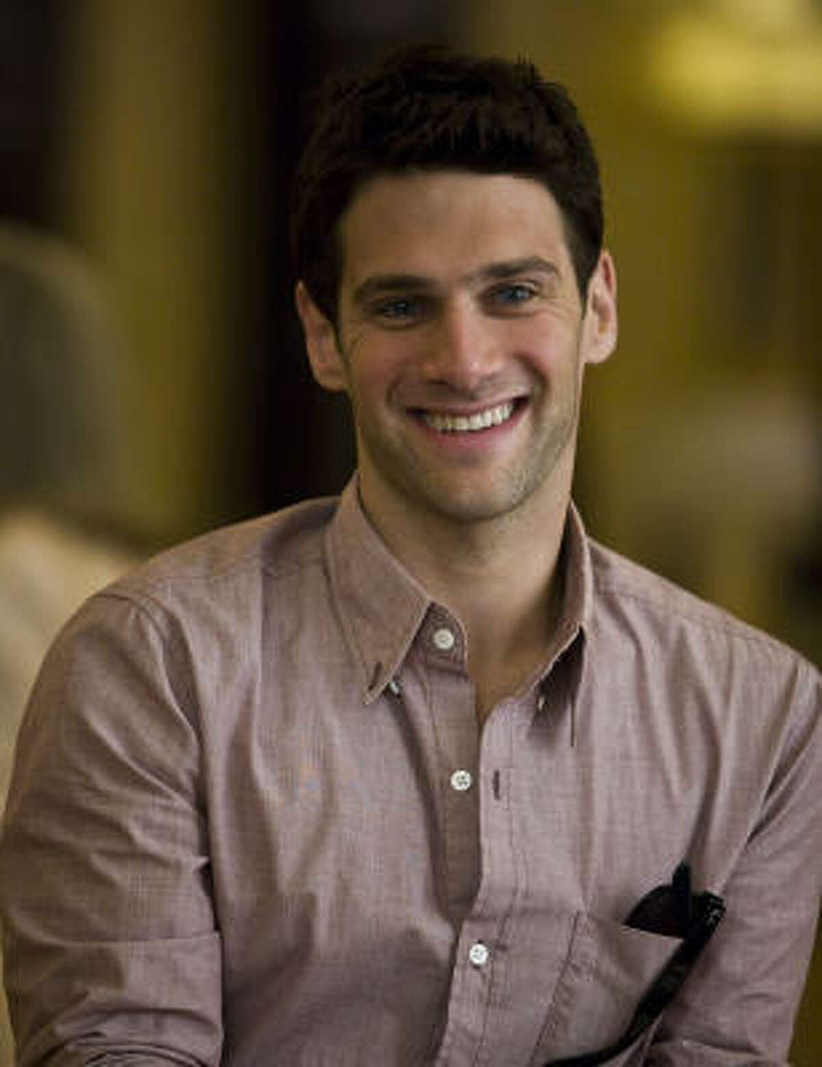 You may also remember Justin Bartha from the National Treasure movies.