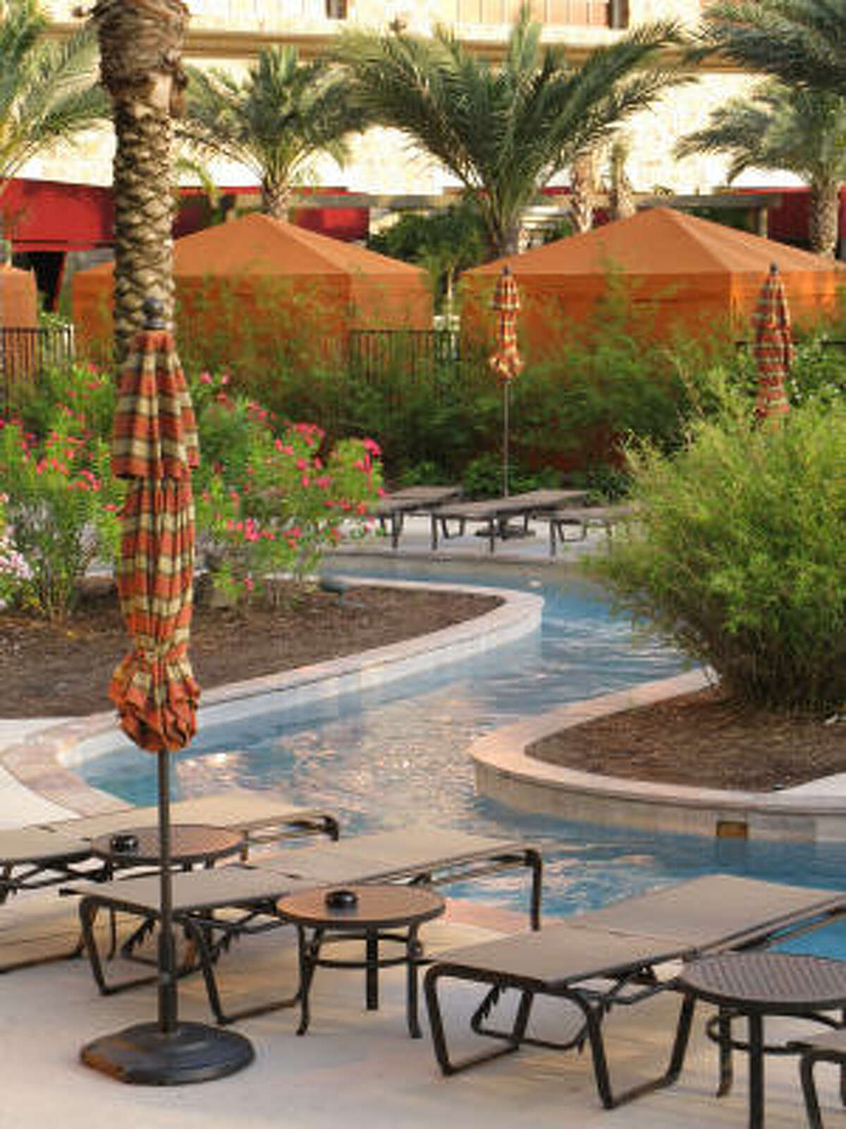 L'Auberge du Lac Casino Resort offers a lazy river.