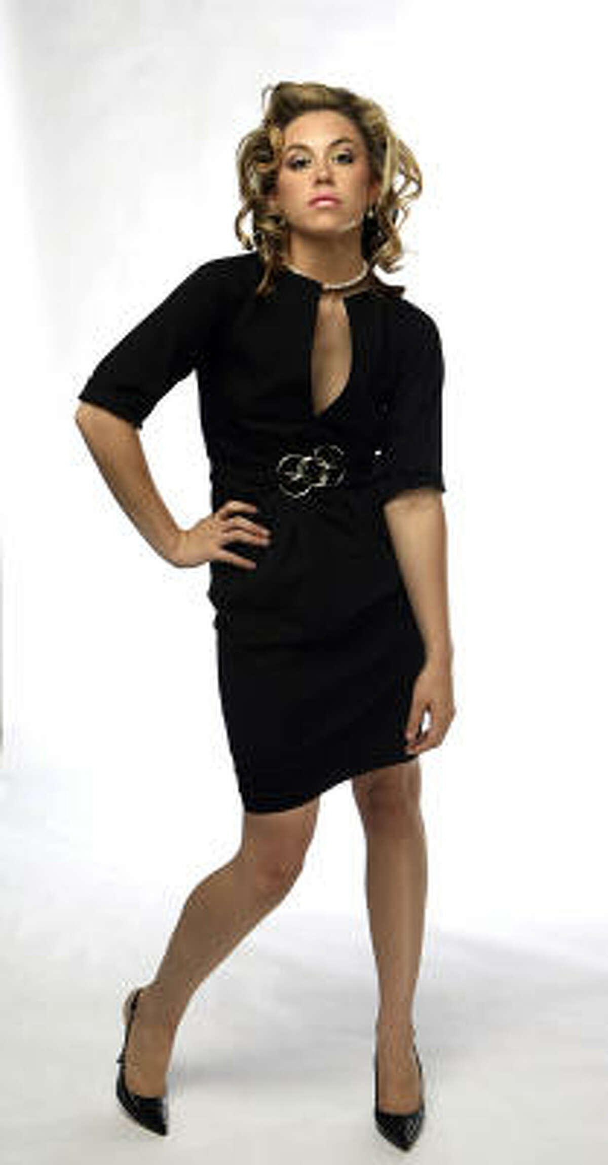 This little black dress (in cotton stretch) by Donna Karan, $1,995, will carry through many seasons.