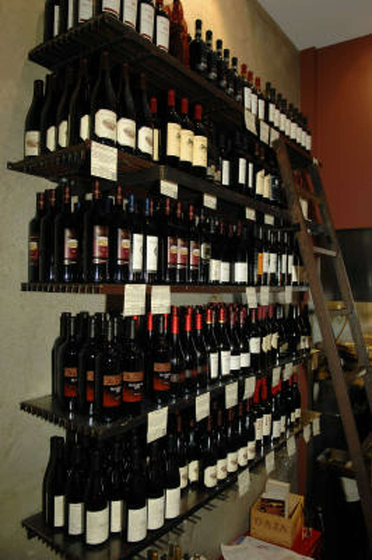 Along with their excellent wine selection at decent bottle prices ...