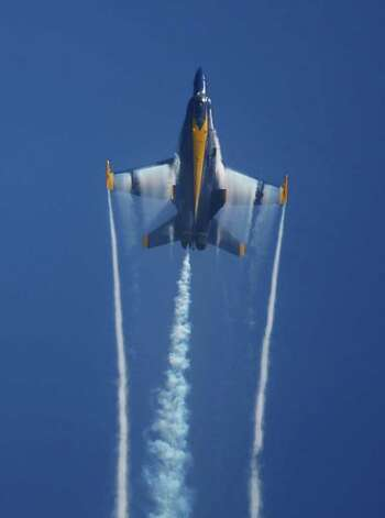 The Blue Angels perform during Seafair on Saturday, August 6, 2011. Photo: Thom Weinstein / Thom Weinstein Photography