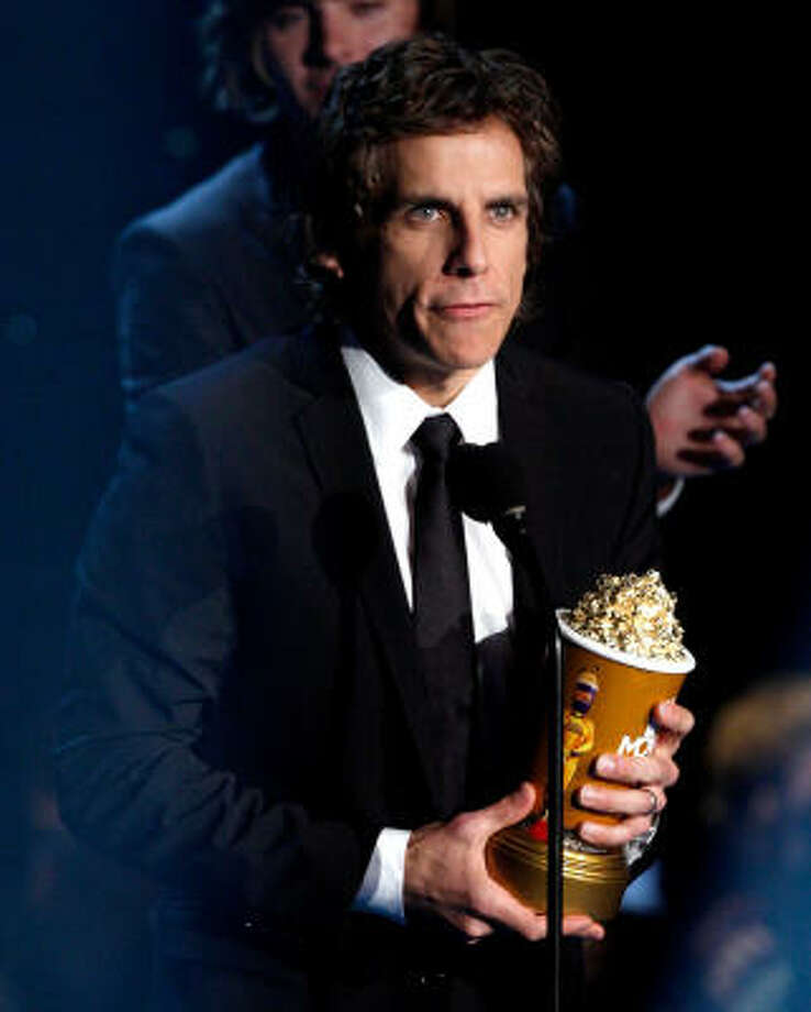 Ben Stiller picked up the MTV Generation award. Photo: Kevin Winter, Getty Images