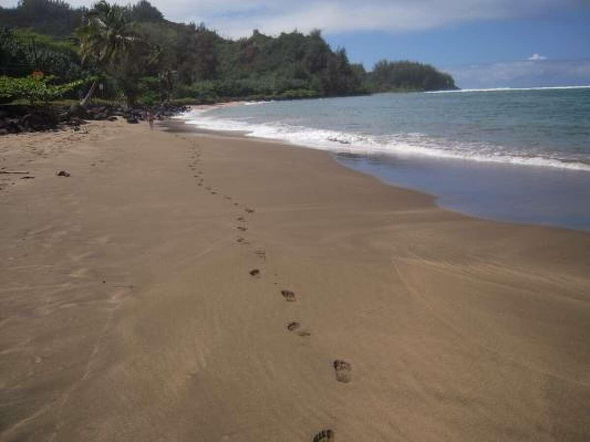 No. 1: Hanalei Bay in Hanalei, Hawaii.