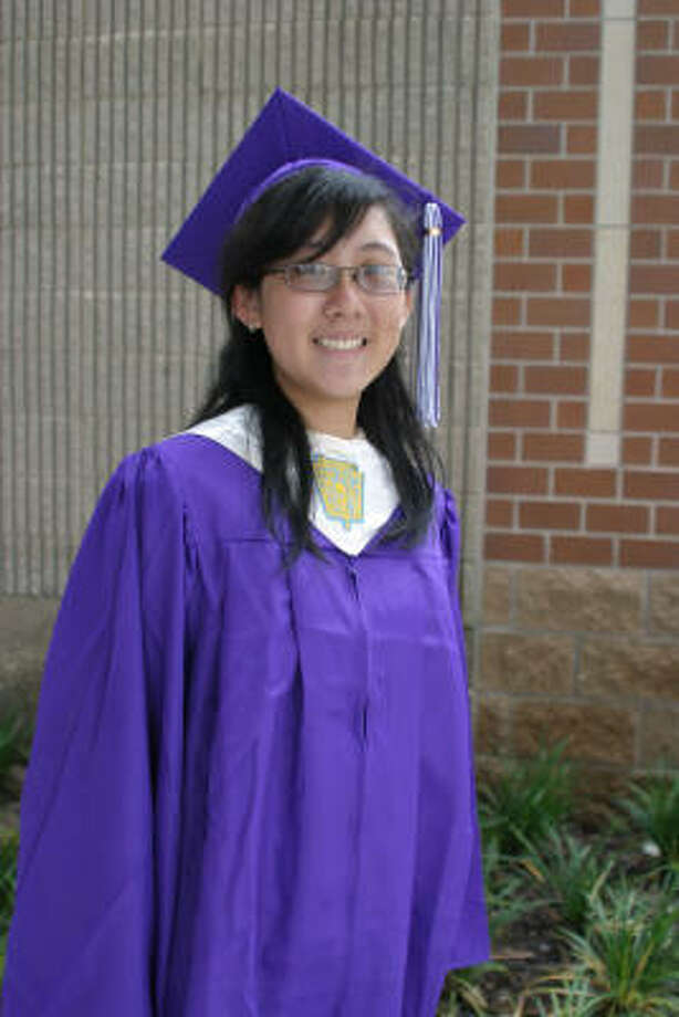 Sylvia Wan, Humble High School Class rank: Valedictorian;  College:  University of Houston  Career choice:  Pharmacy  Scholarships:  Jesse H. Jones and Mary Gibbs Jones Scholarship