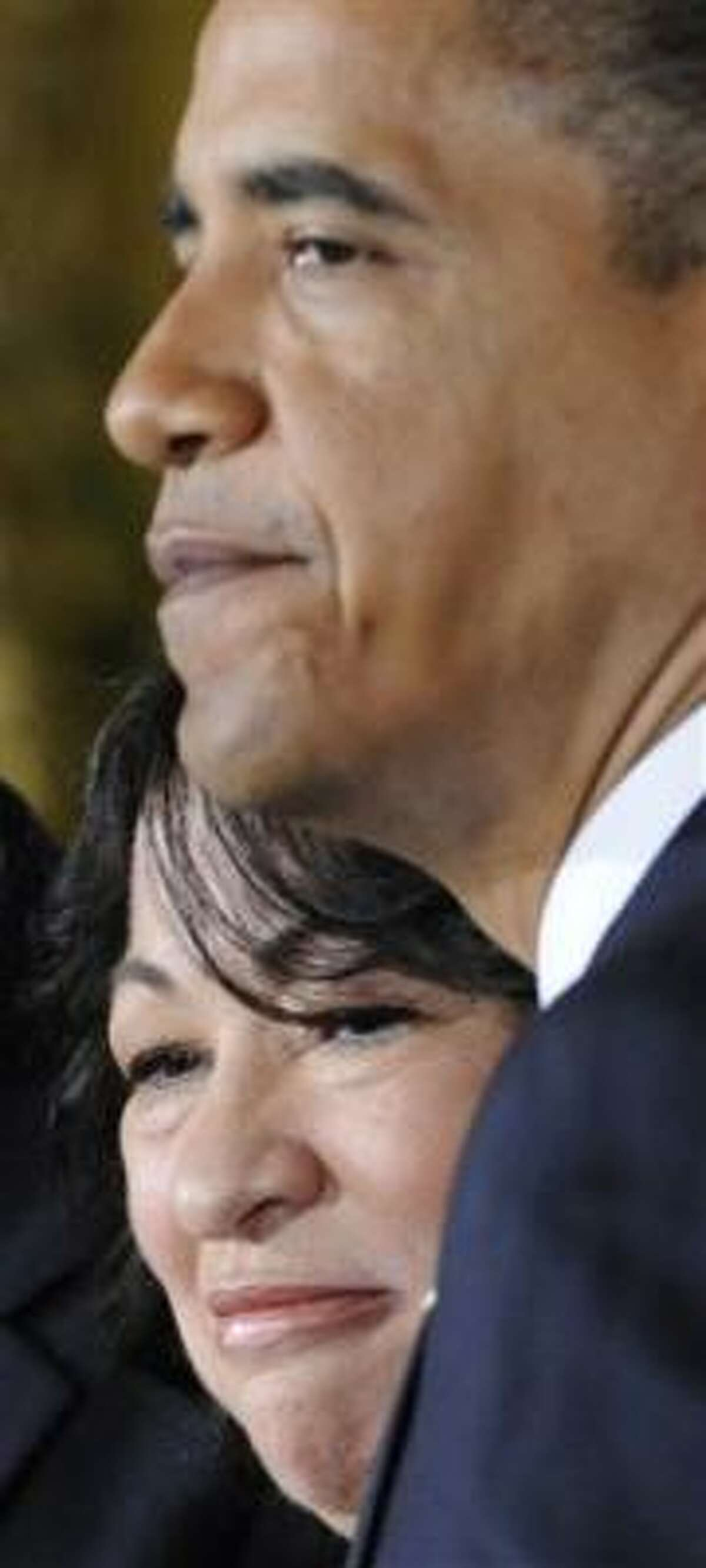 Sonia Sotomayor has been nominated for the vacancy.