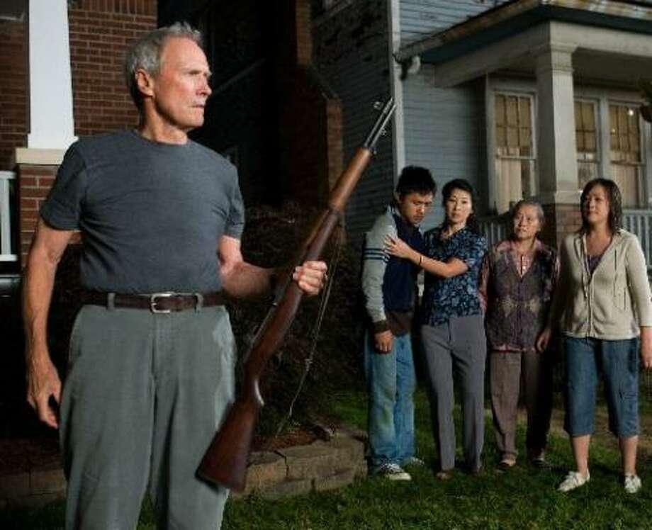 "1. Walt Kowalski (Clint Eastwood) Gran Torino: ""Get off my lawn."" Photo: Warner Bros."