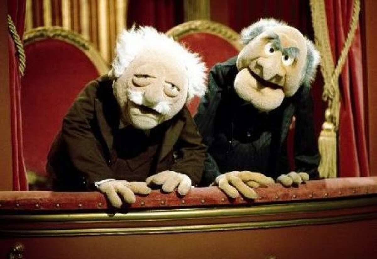 3. Statler and Waldorf (balcony sitters), The Muppet Show: