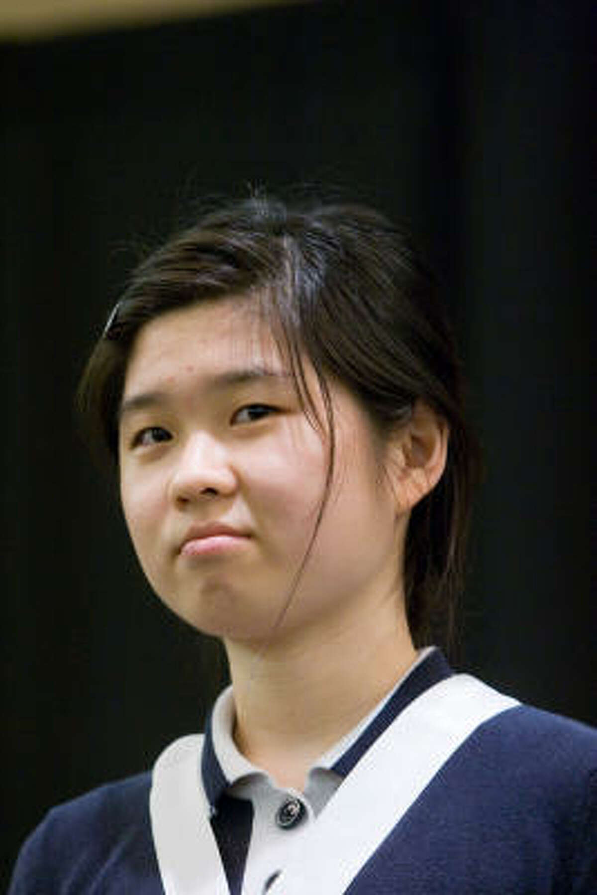 Shanna Chu, Bellaire High School Class rank: Valedictorian; College: Princeton University