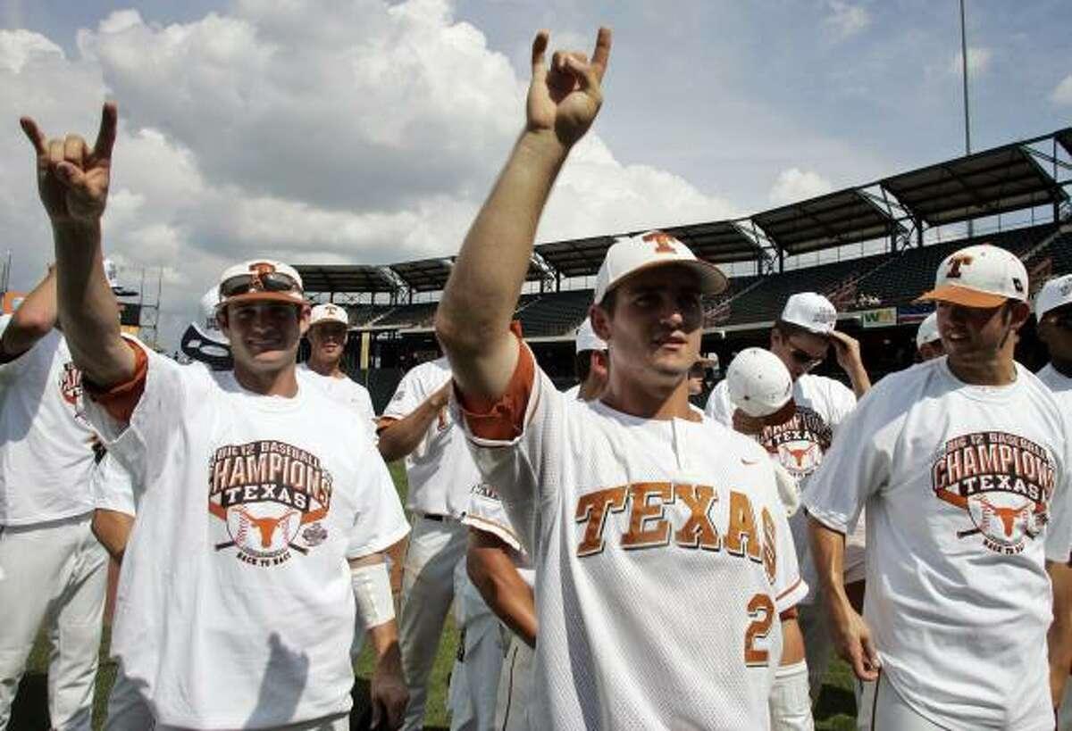 Austin Regional Texas (1), Texas State, Boston College and Army.