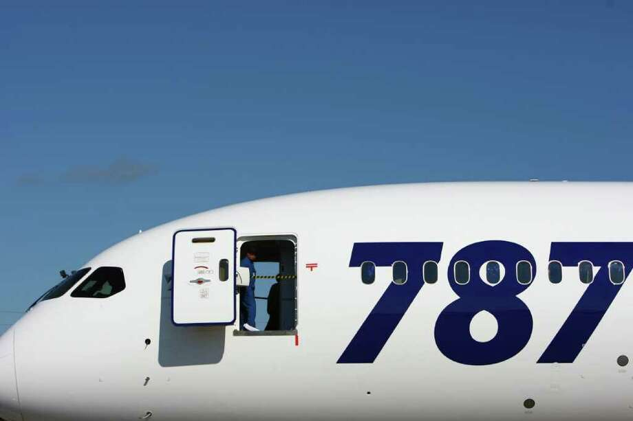A view of the first Boeing 787 destined for use by launch customer All Nippon Airways. Photo: JOSHUA TRUJILLO / SEATTLEPI.COM