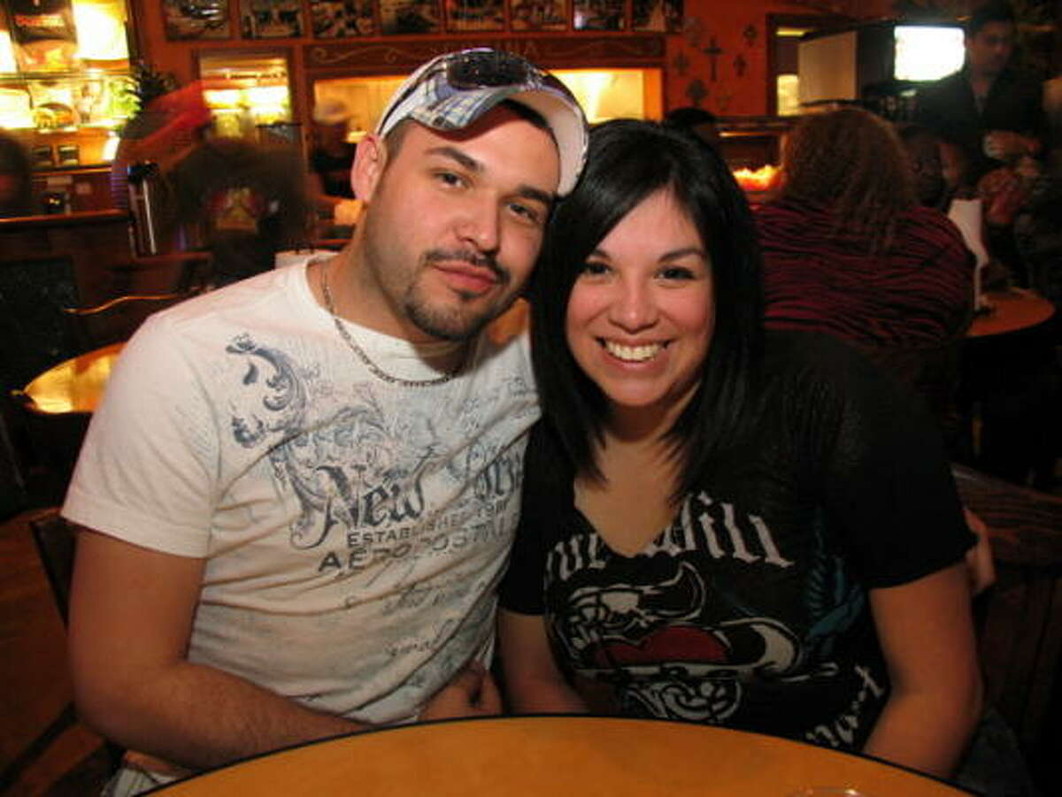 Nick Arellano, left, and Cindy Barrela