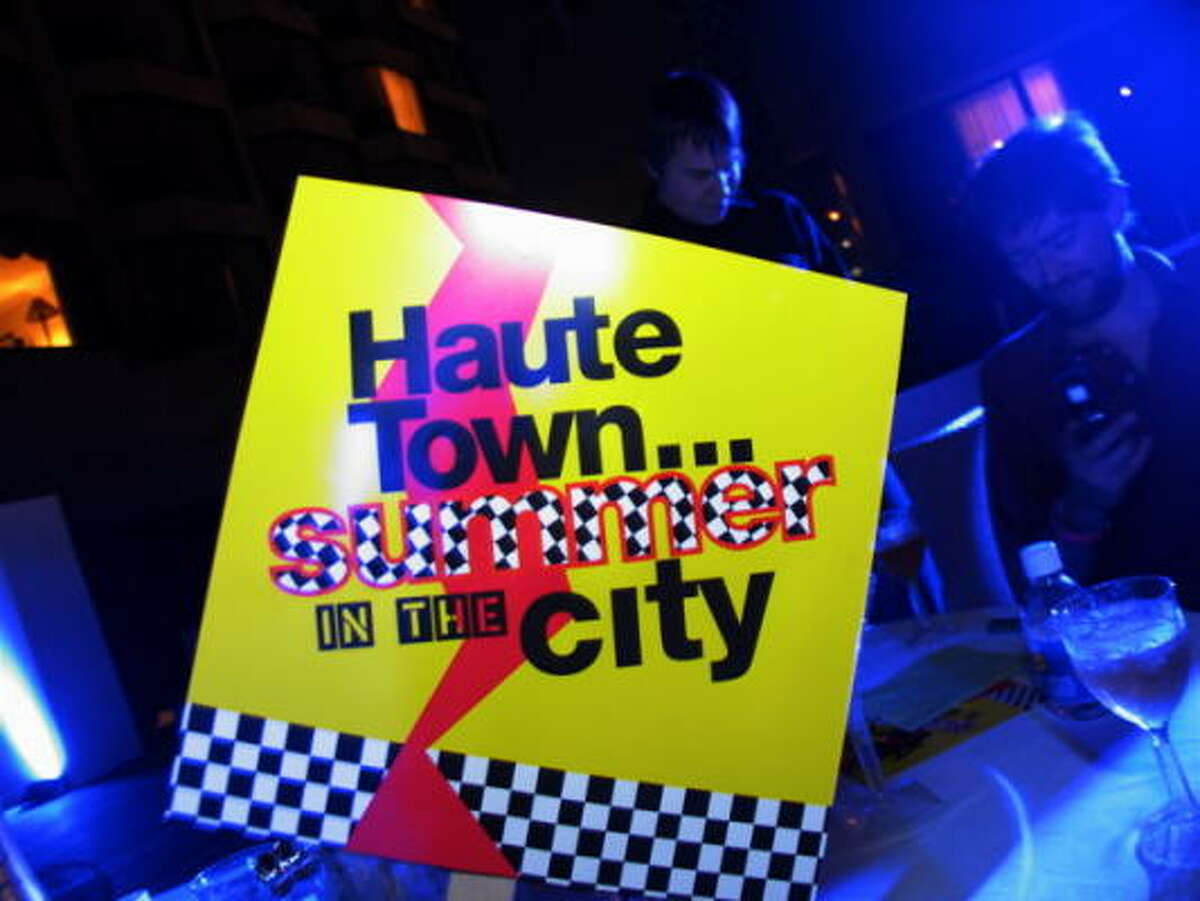 The Haute Town, Summer in the City party was held at the Four Seasons Hotel.