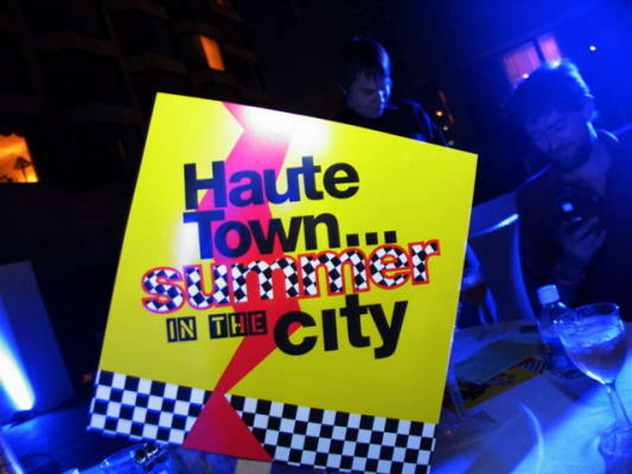 The Haute Town, Summer in the City party was held at the Four Seasons Hotel. Photo: Jordan Graber, For The Chronicle