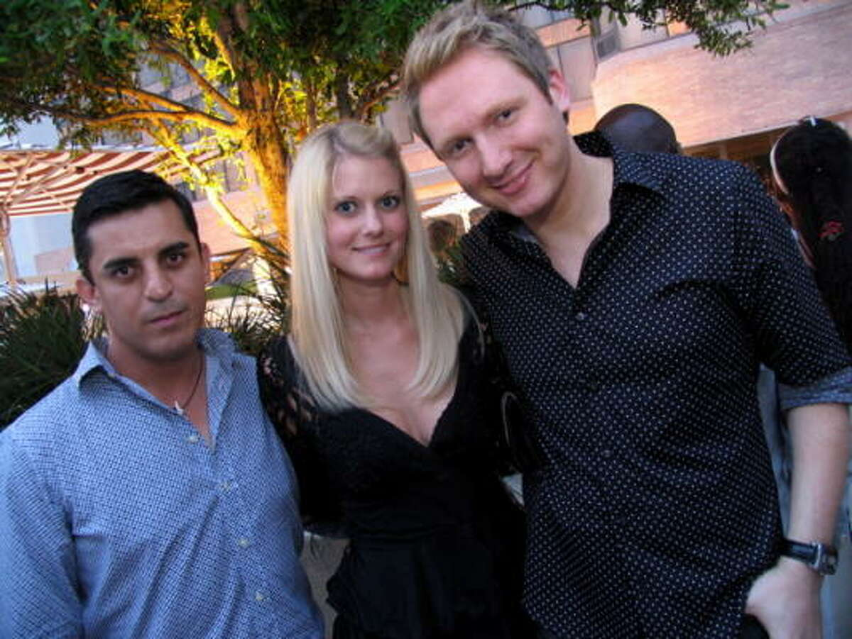 Marcos Camarillo, from left, Tara Kaysen and Kurt Macher