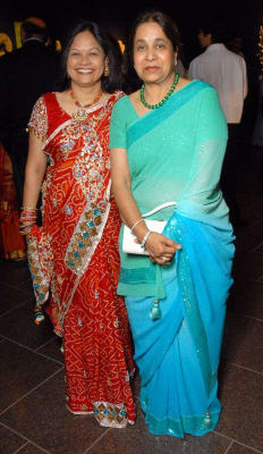 Raj Malani and Sushila Agrawal Photo: Dave Rossman, For The Chronicle