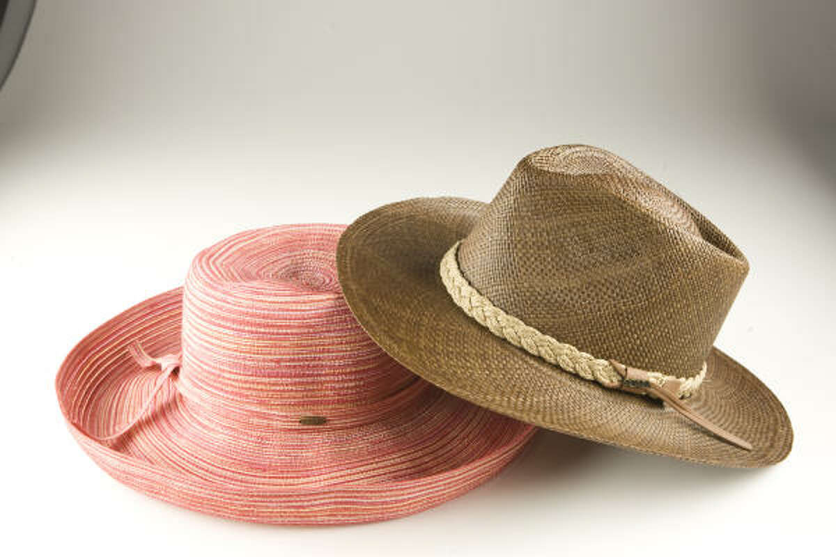 Don't head into the sun without a hat. The UPF 50 hats, $21.95, are from Whole Earth Provision Company.