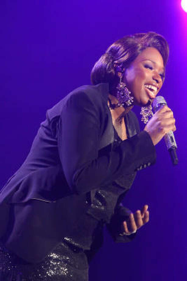 Two years after nabbing an Oscar for her role in Dreamgirls, Jennifer Hudson won a Grammy this year for her self-titled debut album. Photo: Bill Olive, For The Chronicle