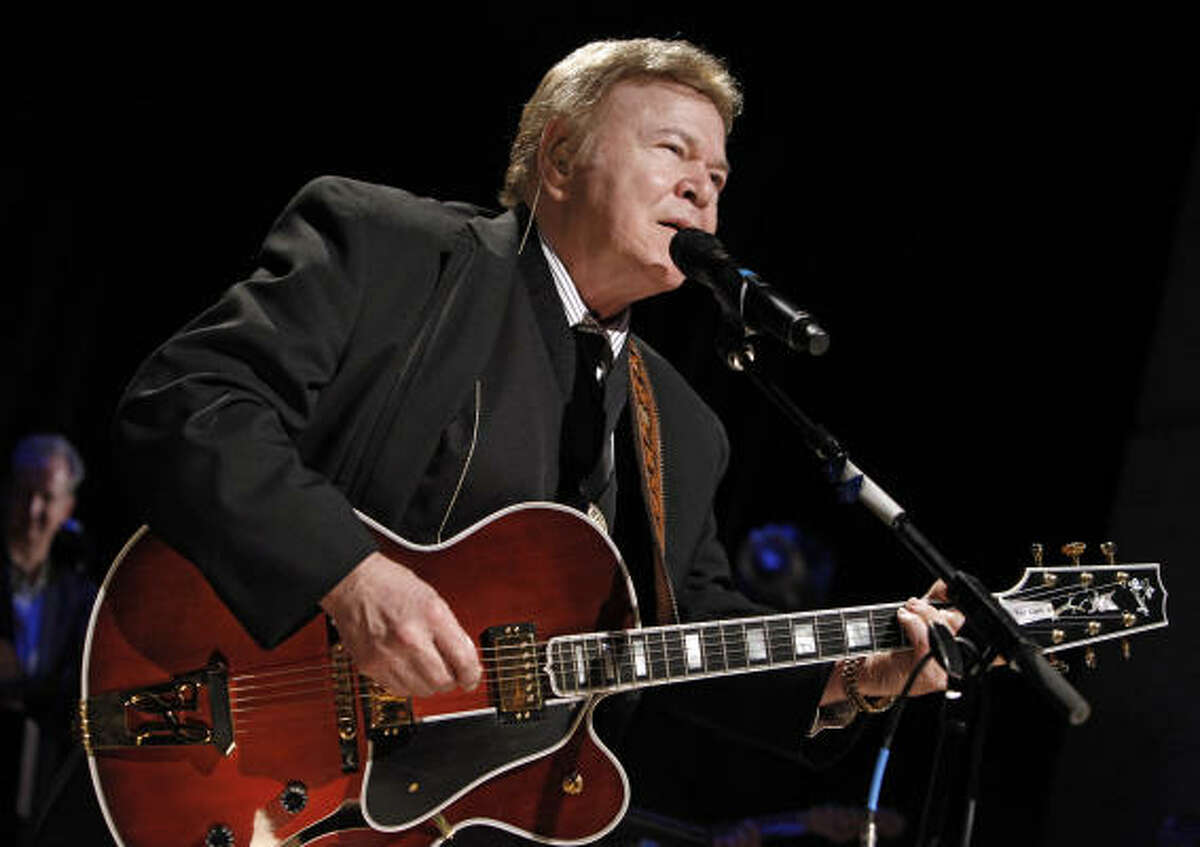 """INDUCTEE: Roy ClarkSong you know : Yesterday When I Was Young. Song you may not know: The Last Word In Jesus Is """"Us"""". Age: 76. From: Meherrin, Va. How long did he host Hee Haw?: From 1969 to 1992."""