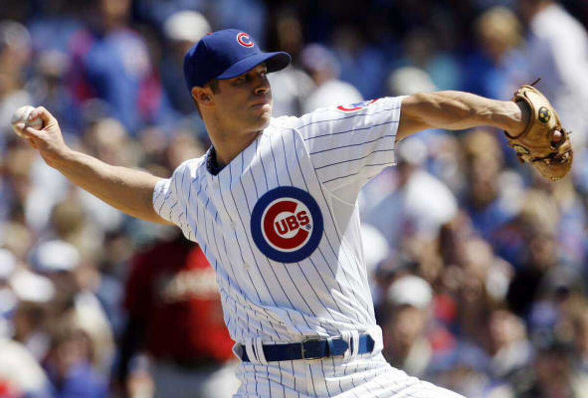Cubs starter Rich Harden had a mistake-filled loss, just his second of the year.