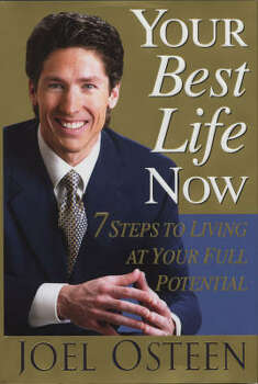 Your Best Life Now, which Joel published in 2004, became a best seller. Photo: Warner Faith