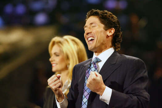 Positive, happy and encouraging have long been the hallmarks of Osteen's message. Photo: Steve Ueckert, Houston Chronicle