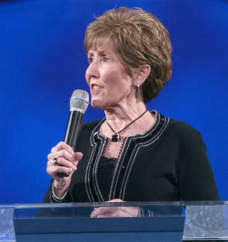 Always giving thanks for her healing from cancer, Dodie leads a Prayer and Healing Service on the second Tuesday of every month on the 2nd floor from 6:30 pm to 8:30 pm. Photo: Provided By Lakewood Church