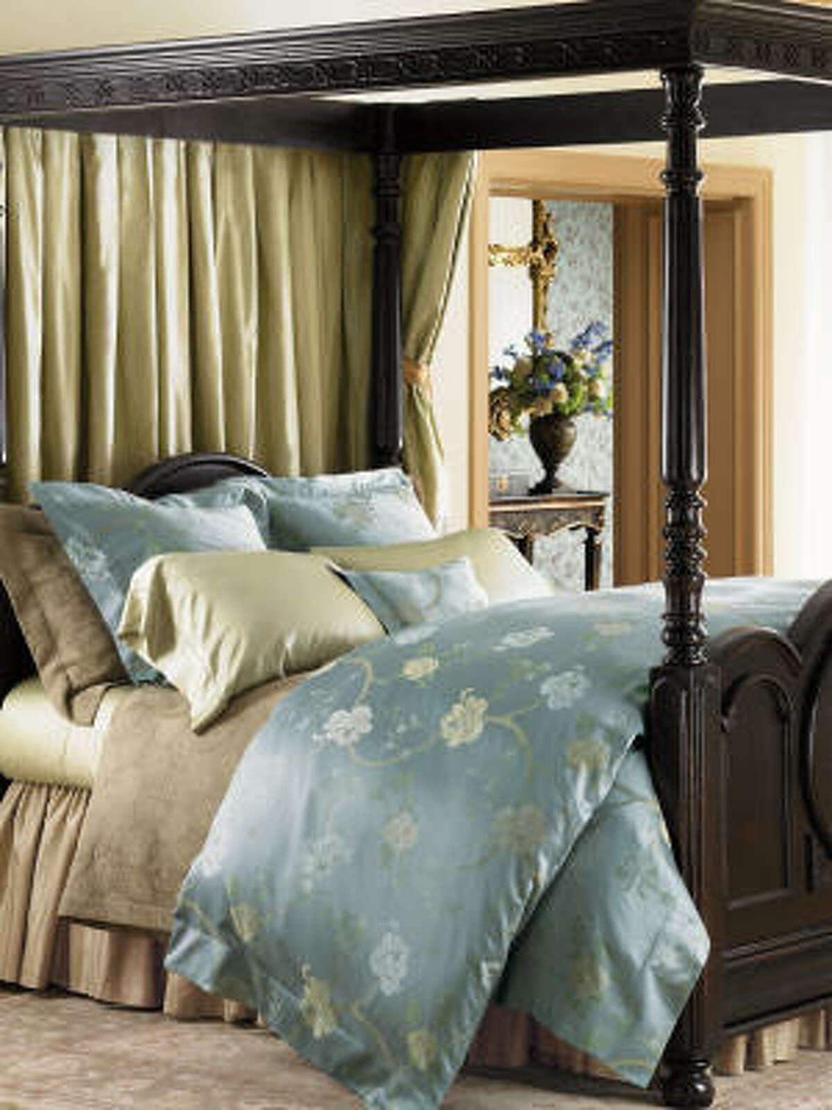 Witney bedding from Sferra, $111-$1,005, sferra.com.