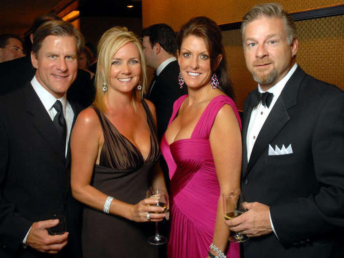 Charley and Trisha Hunton with Katharine and Richard Hunton