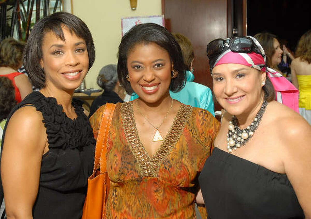 Gina Gaston, Sharon Melton and Yvonne Stern