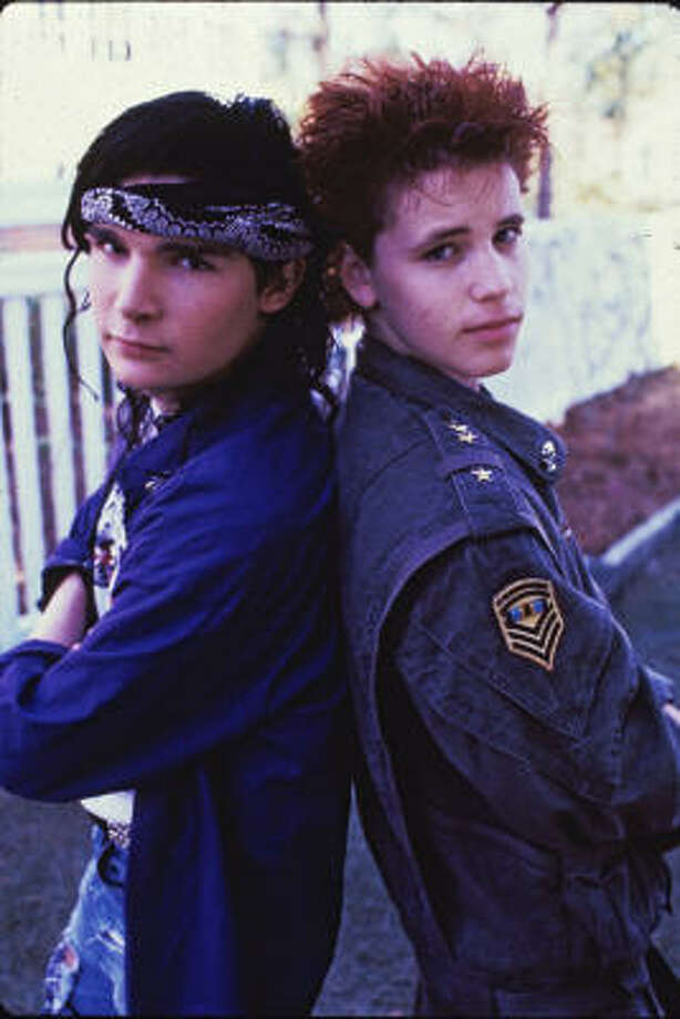 Corey Feldman and Corey HaimClaim to fame: teen heartthrobs in the 80s.Downfall: alcohol, drugs and a reality show called The Two Coreys Photo: Philip Caruso, Vestron Pictures