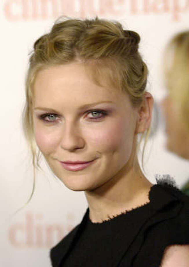 Kirsten DunstClaim to fame: Interview with the Vampire.Success story: despite struggling with depression has continued to gain leading roles in successful movies. Photo: Chris Pizzello, AP