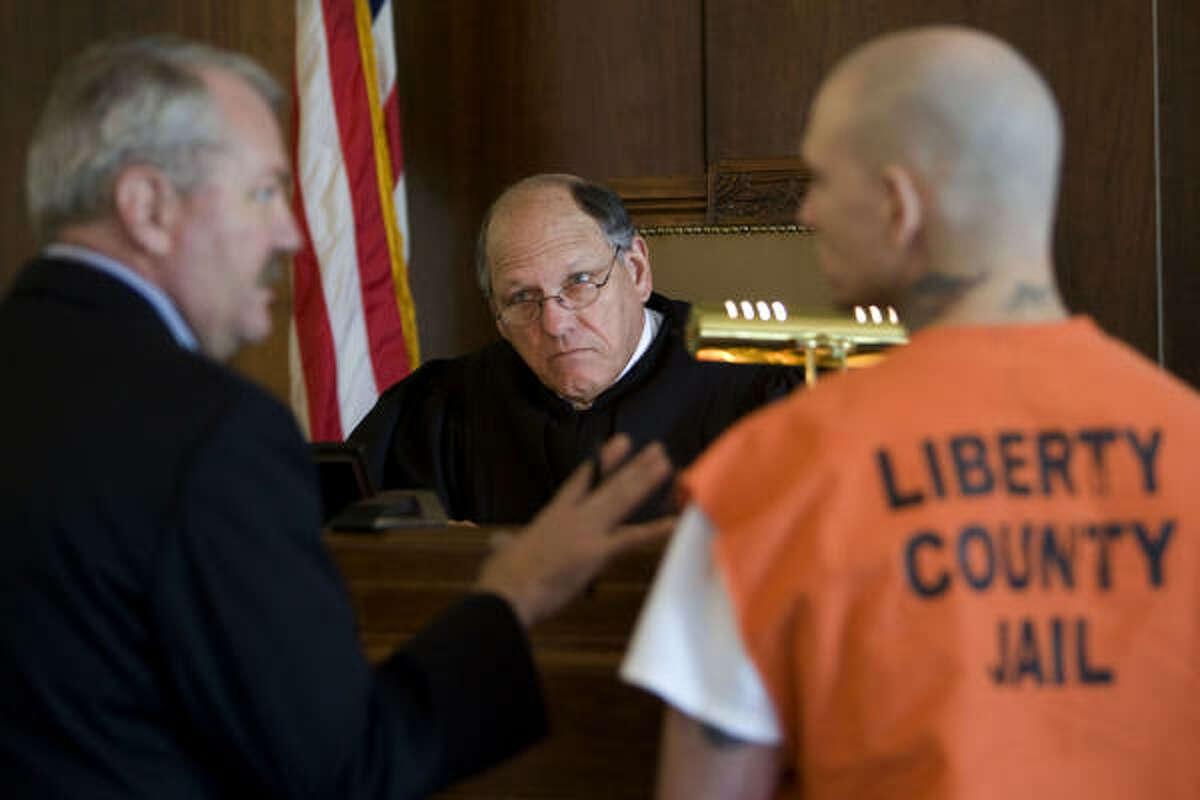 Liberty County 75th Judicial District Judge C.T.
