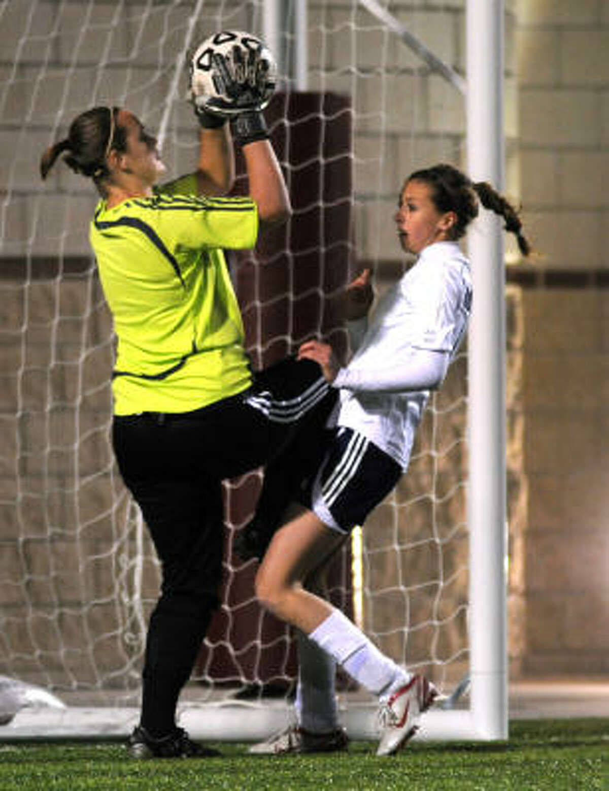 Rest of the First Team Michelle Kloss, Cy-Creek: The outstanding goalkeeper and defensive leader helped Cy Creek reach the Region II finals.